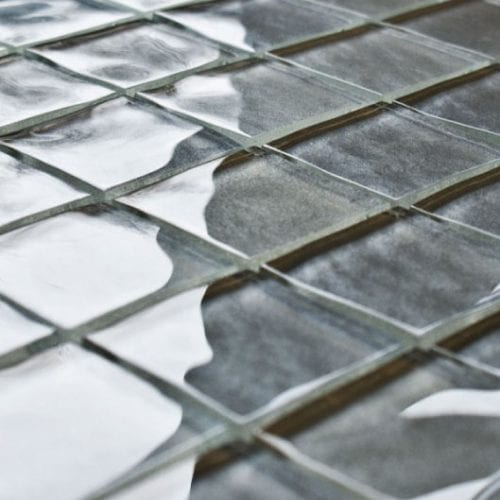 Impressions Cassatt Grey Glass Tiles