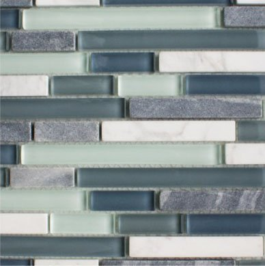 Quantock Glass and Stone Mosaic Tiles