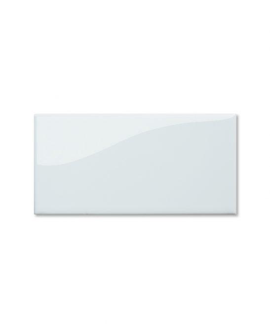 White kitchen and bathroom brick tiles