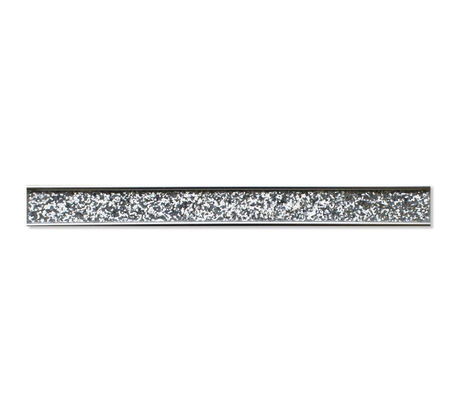 Sliver Glitter | Mosaic Border Tile | 60 x 32 cm | Mosaic ...