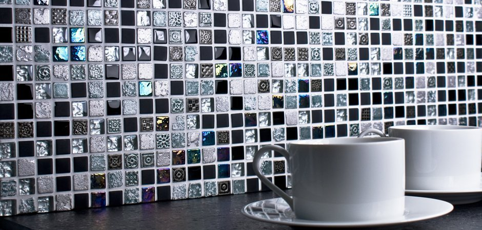 Mixed mosaic wall tiles for your home