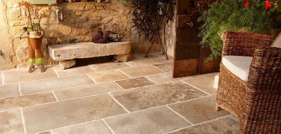 Natural Stone Floor Tiles Rustic 187 Mosaic Village