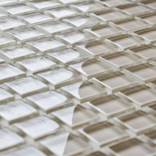 Barley glass mosaic tiles