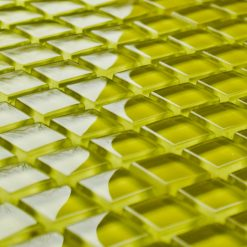 Daffodil glass mosaic tiles