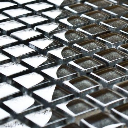 Granite glass mosaic tiles