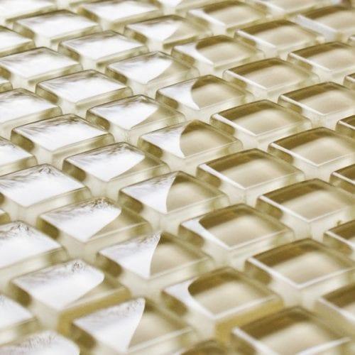 Hessian glass mosaic tiles