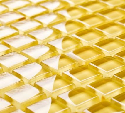 Laburnum glass mosaic tiles