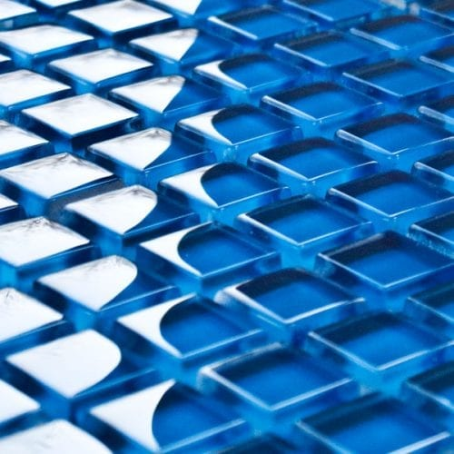Royal glass mosaic tiles