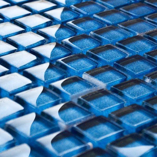 Zircon glass mosaic tiles