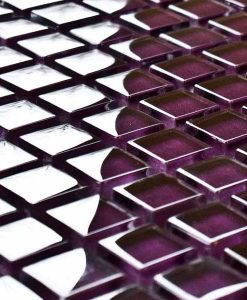 Purple Mosaic Tiles Purple Bathroom Kitchen Tiles Mosaic Village