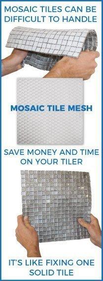 mosaic tile mesh