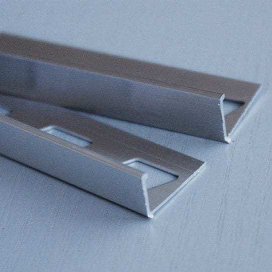 Chrome Straight Edge Trim
