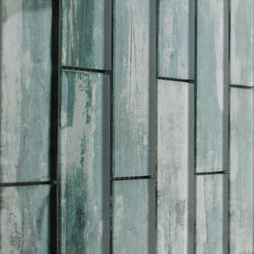 Atlantis Green Mosaic Brick Tiles