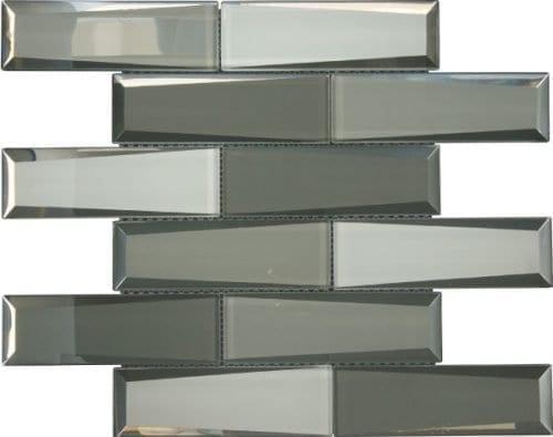 Dernier Grey Glass Tiles