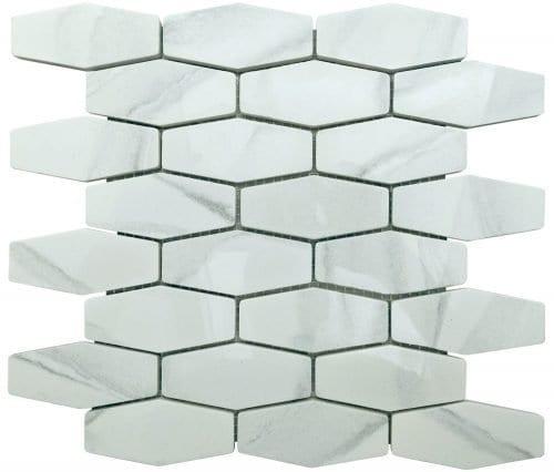 Athena Diamond Tiles - Recycled Glass