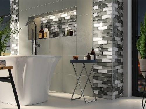 Dernier Grey Bathroom