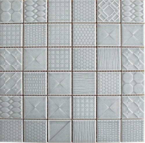 Geo Denim Ceramic Tiles