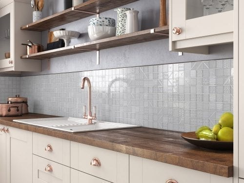 Geo Grey Kitchen