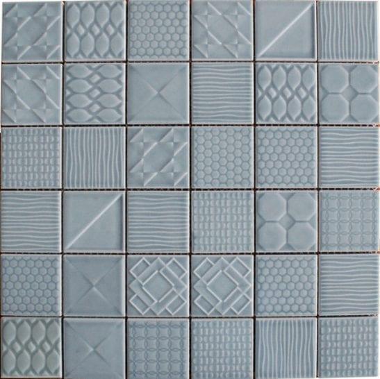 Geo Blue Ceramic Tiles
