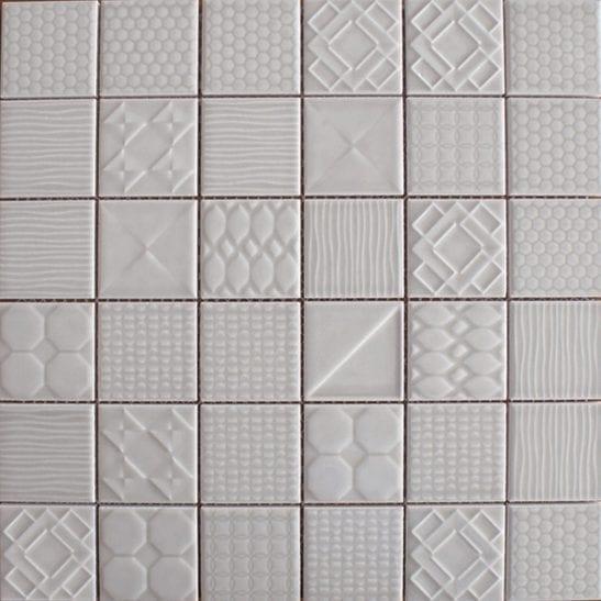 Geo Grey Ceramic Tiles