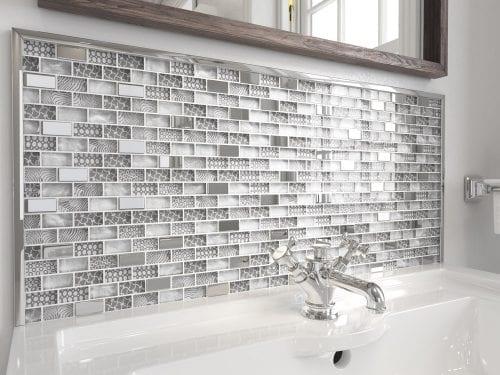 Wild Elephant Grey Mosaics