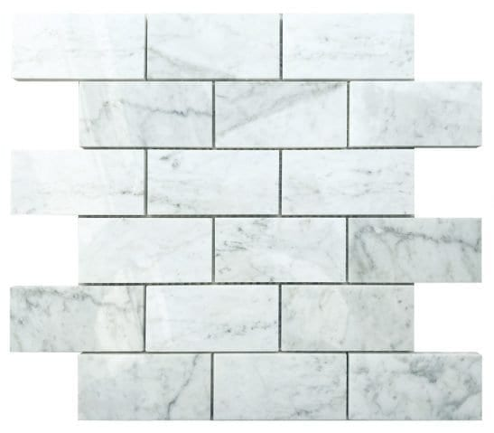 Pantheon White Brick Tiles
